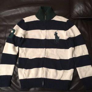 Ralph Lauren polo sweater boys 10/12
